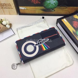 Hot sale Fashion Card Holders Genuine Leather Flap Wallets Female Purses Card Holder Coin Pouch men wallet with box 496336
