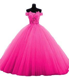 최신 빨간 라일락 옐로우 핑크 Quinceanera 드레스 2019 Appliciues 비즈 달콤한 16 파티 미발매 데뷔 파티 공식적인 저녁 파티 파티 AL62