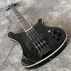Livraison gratuiteExports Qualité d'usine 4 String Rikenbaker Electric Bass Guitar Guitarra Toute couleur Accepter