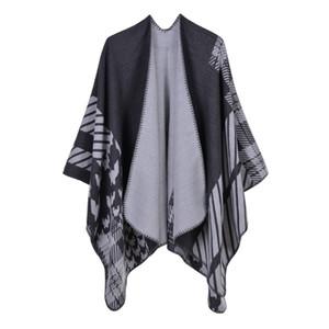 Bohem tarzı Cloak Basit Dış Ticaret Kıvam arttırıcı ve Uzatma Seyahat 2019 Yeni invierno Isıtma Abrigos mujer için Battaniye