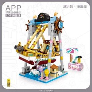 LOZ 다이아몬드 미니 입자 퍼즐 블록 DIY 장난감 17171730 놀이 공원 시리즈 도매