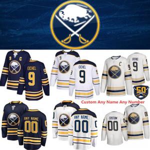 2020 Buffalo Sabres 9 Jack Eichel Jersey 90 Marcus Johansson 53 Jeff Skinner 21 camisetas de hockey Kyle Okposo 26 Rasmus Dahlin 40 Carretero Hutton