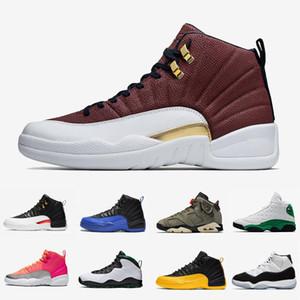Jordan Retro 12s Mens-Basketball-Schuhe Spielball Hot Schlags 12Reverse Taxi 4s Loyal Blau 11s Bred 9s Travis Cactus Jack 6 Sport Turnschuhe Außen