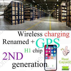 Kablosuz Gen2 Bluetooth Kulaklıklar Kulaklık Kulaklık BT 5.0 çağrı SiRi dokunmak kontrol Düğme PK i12 i500 i9s i7 TWS için ios Android