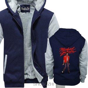 Felpe con cappuccio invernali Michael Jackson da uomo Beat It King of Pop Pose giacca invernale cappotto caldo felpa con cappuccio natale sbz4448