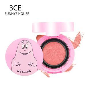 3CE Eunhye House Face Makeup Blush Air Cushion Cheek Blush Powder Smooth Mineralizes Blusher Bronzer Cosmetics 2 Colors