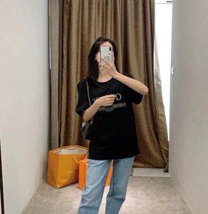 2020SS Designertshirts Hot Spring Femmes Hommes T-shirt New Arrival mode de haute qualité bateau libre de luxe Hommes T-shirt décontracté Asain Taille B105880D