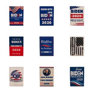 Biden 2020 Flag Sticker Set Donald Presidente Corpo de carro adesivos Mantenha a tornar a América Grande Partido Home Decor bandeira 5111 # 648