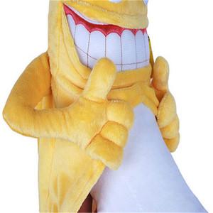 1шт 36см 55см Нового зла банан люди смешной новизне чучела плюшевых игрушки фрукты милый мягкое чучело кукла свадьба Валентин день дети подарок