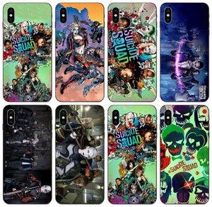Mate [TongTrade] Suicide Squad Film di caso per iPhone Pro X 11 XS Max 8 7 6s 5s 6 5 Samsung A7 S9 Huawei 20 Sony Xperia XA di alta qualità