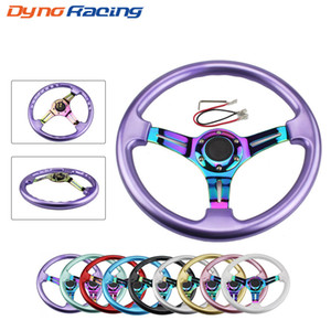 Neo Chrome Gold New 350mm 14inch Steering Wheel ABS Steering Wheel