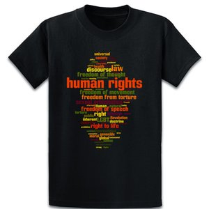 Human Rights T Shirt Comfortable Spring Autumn Vintage Kawaii Character S-5xl Anti-Wrinkle Cotton Shirt