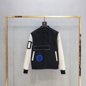 19FW Andys European Baseball-Mantel Uniform Mode-Qualitäts-Einreiher Warme Jacke Paare Frauen-Männer Mäntel HFKYJK012