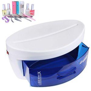 Cabinet plastique stérilisateur UV tiroir désinfection équipement machine Outils de salon EU Plug Fournitures Nail Art # 11