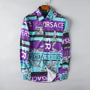 20SS tasarımcı elbise gömlek Hip Hop Moda Kuş Baskı Erkek Tasarımcı T Gömlek Kısa Kollu Yüksek Kalite Erkekler Kadınlar Tişörtlü Polo mens