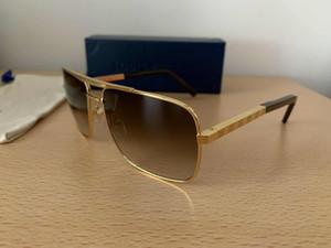 Yeni erkek erkekler için tasarımcı güneş gözlüğü tutum erkek güneş gözlüğü güneş gözlüğü büyük boy güneş gözlüğü kare kare açık serin erkekler Z0259U gözlük
