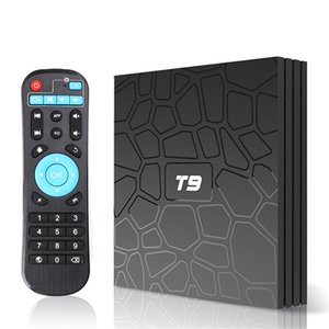T9 Rockchip RK3318 Android 9.0 TV Box 4GB 32GB 4GB 64GB with Google Play Store Netflix Youtube T9 Smart BOX