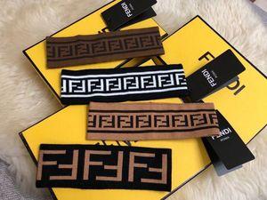 IOGA Mulheres Homens FD Designers Headbands Elastic Headband Sports ginásio Ampla Tafilete Headwear Crochet Faixa de Cabelo Headwarp