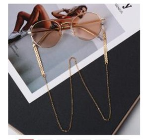 Women Fashion Pearls Sunglasses Chains Gold Eyeglasses Chains Sunglasses Holder Necklace Eyewear Retainer Accessories