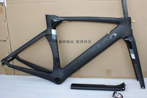 أسود Colnago Carbon BOB Road bike Frame إطار كامل من ألياف الكربون مع BB386 Frame GLOSSY LOGO