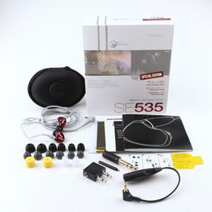 SE535 наушники громкой связи наушники-вкладыши SE535 проводные наушники HIFI наушники шумоподавляющие гарнитуры с логотипом розничной упаковки V Best