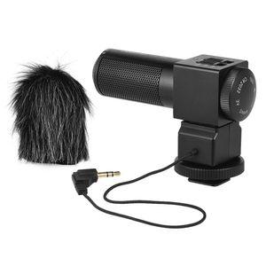 Freeshipping Pro Fotografie Interview On-Kamera Mikrofon Aufnahme Mic für Nikon Canon Sony DSLR-Kamera-DV-Camcorder