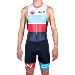 CANNIBAL Mens Cycling Triathlon Sleeveless Bicycle Skinsuit Dress Male Bike Jersey Mallet Clothes Clothing Set Uniform Body Suit