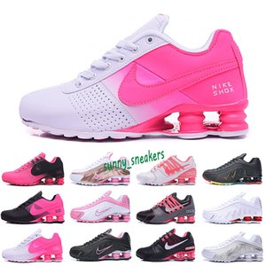 Nike Air Max Shox 809 ATACADO 2020 de alta qualidade Avenue Sports Running Shoes For Men Air Cushion Entregar NZ R4 Mulheres Runner Sneakers Man Trainers Ténis 36-40 S9