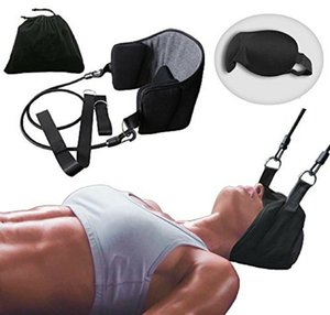 Head Hammock for Neck & Headaches Pain Relief Cervical Traction Stretcher Support Massager Hammock Device