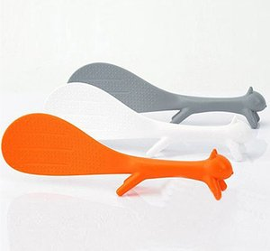 Korean Cute Squirrel Rice Other Kitchen, Dining & Bar Kitchen, Dining & Bar Paddle Household Ladle Non Stick Rice Spoon Kitchen Supplie Meal