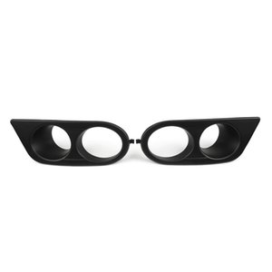 Areyourshop Car One Pair ABS Plastic New Style Bumper Fog Light Lamp Cover Fit For BMW E46 M3 01-06 Car Auto Accessories Parts