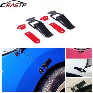 nterior Acessórios Auto Fastener RASTP-Universal Segurança 2pcs Gancho Trava Clipe Kit Adesivos Quick Release bloqueio gancho Clip for Corrida ...