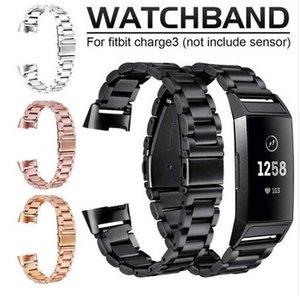 Paslanmaz Çelik Watchbit Fitbit Şarj 3 Değiştirme Için Paslanmaz Çelik Bilezik Akıllı Fitbit Şarj 3 Saat Kayışı Için Akıllı Kayış