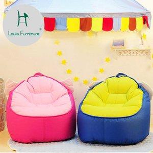 Louis Fashion Children Sofa Chair Cartoon Girl Princess Baby Fabric Mini