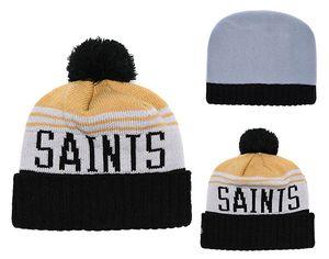 Barato designer chapéu inverno novos bonés orleans chapéus de malha santos logotipo da equipe gorros bonés hip hop cap esportes ao ar livre cap vem com adesivos