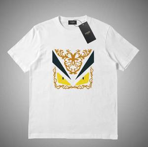 Fendi Vendita calda nuovo stile mens camicie firmate tee commes des garcons cotone ricamato cuore rosso tees uomo donna casual manica corta t-shirt # 963