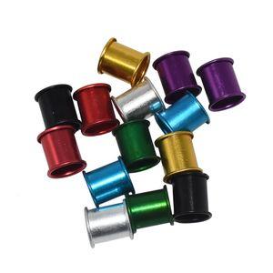 1000 PC 8 mm Pigeon pie anillo anillos de aluminio herramientas de identificación Birds 7 colores anillo del pie del pájaro herramientas Pigeon