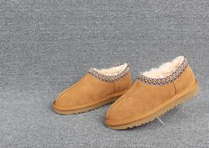Australien TASMAN SLIPPER Designer Stiefel Frauen Mann klassischen Winterstiefel schwarz TAN Knöchel-Schneeaufladungen Winter Slipper Schuhe Explosionen Größe 35-43