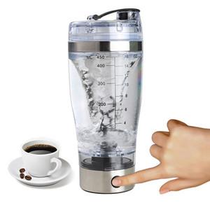 600ML poudre de protéine agiter le flacon Mixing Bottle Sport Fitness Protein Shaker Sport Bouteille d'eau avec poignée Y200330