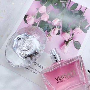 مثير للمرأة عطر دائم عطور صحة المرأة جمال الزهور رائحة مزيل العرق Parfumes رذاذ البخور CRYSTAL 90 مل 3.3 أوقية