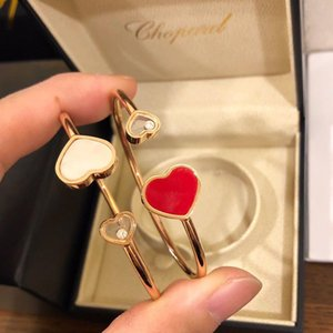 With Box Ring Mother -Of -Pea Necklace K Gold Silver 925 Women &#039 ;S Gifts New Style Fading Earrings Jewelry &#13 ;Chopard &#13 ;563