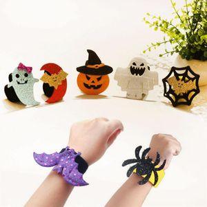 Halloween Party Supplies Fête créative citrouille Bracelet Décoration Bat Halloween Décorations Clap Cercle 1pc enfants enfants cadeau
