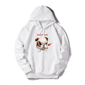 Luxury Hoodie for Women Men Thin Fashion Deisgner Hoodie Long-sleeved Dog Print Sweater Plus Size M-5XL Men Clothes