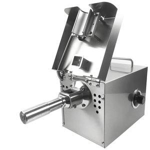 Aço 220V / 110V Automático de Imprensa óleo de máquina inoxidável Screw Press óleo de máquina óleo de coco Extractor Início