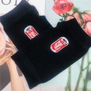 ZAOLIHU Moda Diseñadores de la bebida de las mujeres Guantes Calientes dedo guantes de invierno La mitad de Negro de punto para hombre divertido femeninos