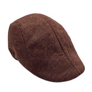 High Quality Men Summer Visor Sun Hat Mesh Running Sport Casual Breathable Beret Flat Cap Popular Style Breathable Sunhat Caps