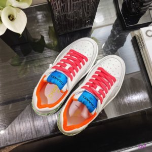 Novo Plano de fundo redondo Headed Lace coreano Branco Sapatos Sapatos de bordado Rose Flores Mulheres gradiente de cor cadarços 033004