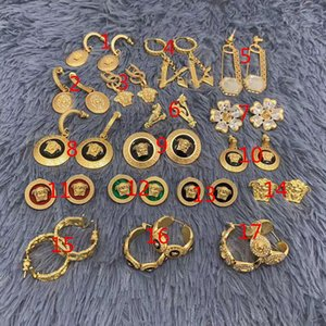 European and American designers sell many kinds of earring necklaces