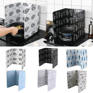 Haute qualité Foil huile Baffle Aluminium Bloc huile Plaque de cuisson Poêle barrière Isolation thermique anti-éclaboussures Ustensiles de cuisine Outil