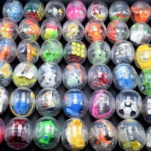 WJ1003X20 الجدة ألعاب 47 * 55MM شفاف الملتصقة تطور البيض الكرة متعة لعبة تطور التصفيق الموسيقى مسة خاصة البيض لعبة